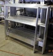 lakatosipari munkák Alumínium biztonsági korlát